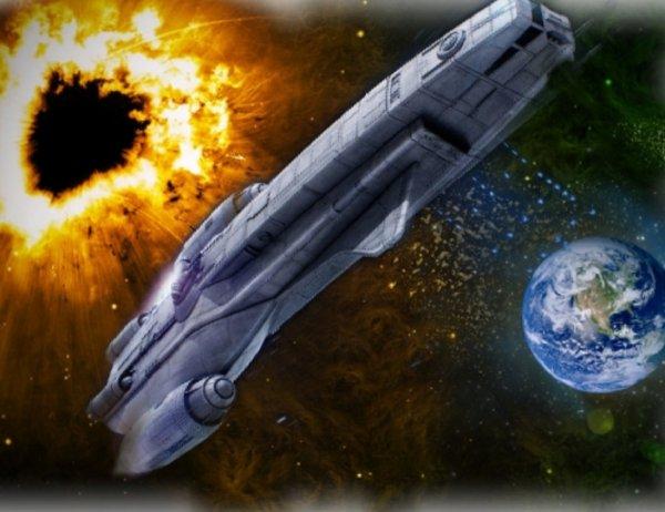 Чёрная дыра разорвёт Землю на атомы: Летящий астероид передал код эвакуации для Москвы