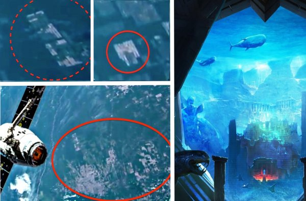 Атлантида существует: Спутник NASA снял подводные руины из космоса