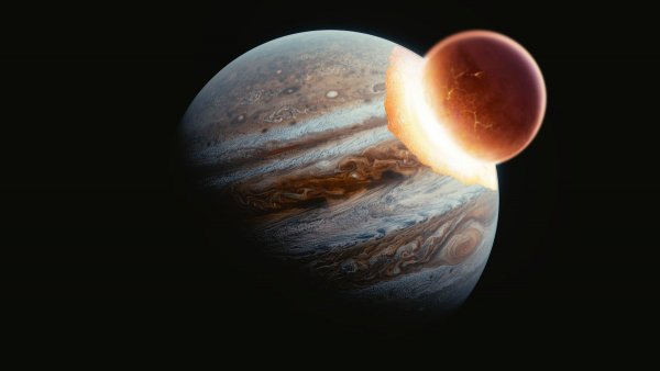 Юпитера не существует! Под плотной атмосферой планеты скрывается поглотившая её Нибиру