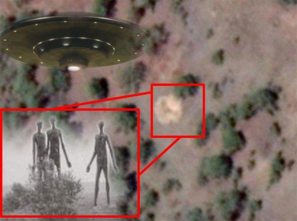 Иркутск уничтожат пришельцы: В Бурятии с помощью Google Maps нашли воронку от крушения НЛО