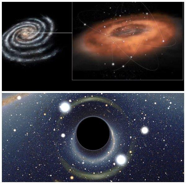 Взорвёт всё живое: Чёрная дыра в центре Млечного пути «выплюнула» космический тротил