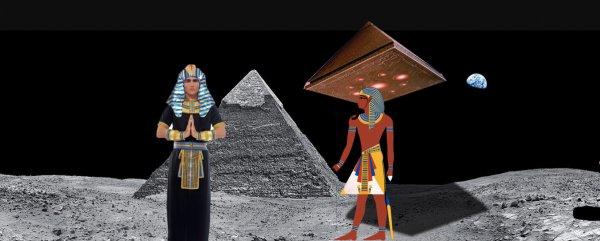 Египтяне летали на Луну! На спутнике Земли массово находят следы древней цивилизации