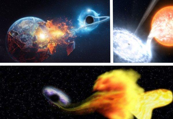 Нибиру следующая: Чёрная дыра сожрала нейтронную звезду