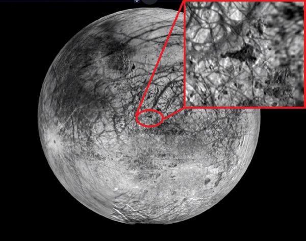 И всё-таки она обитаема! На Луне Юпитера обнаружена действующая база пришельцев