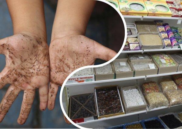 Облизала и ушла: Открытые лотки с продуктами в супермаркетах вызвали бунт среди россиян