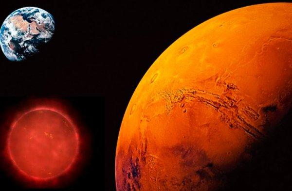 Нибиру остановилась рядом с Марсом. Уфолог предсказал самоуничтожение Земли
