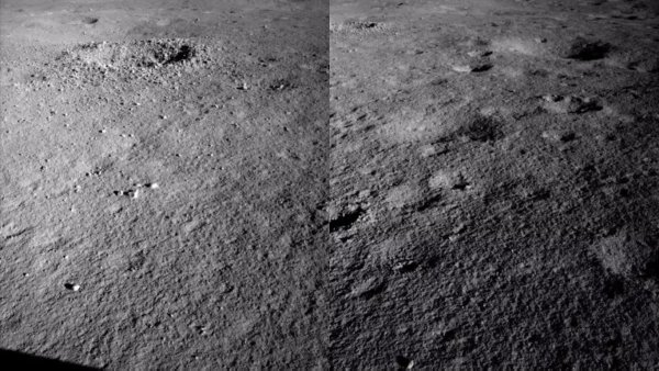 Остатки космического топлива? На тёмной стороне Луны обнаружили непонятное гелеобразное вещество