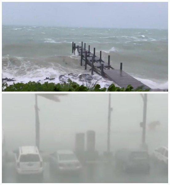 США исчезнут под водой: Пришельцы вызвали ураган «Дориан» ради мести за «Зону 51»