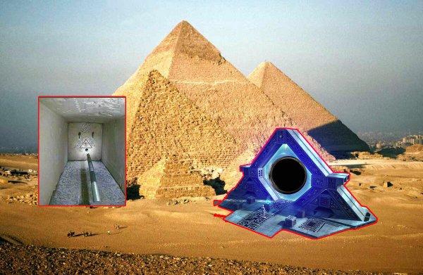 Пирамида судного дня: Генератор чёрных дыр обнаружили в Египте