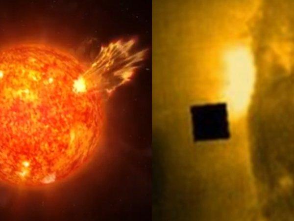 Пришельцы «жрут» звёзды: В Солнце появилась дыра, размером с Россию
