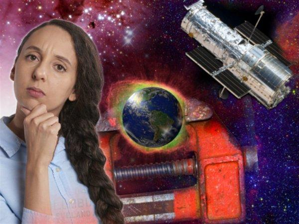 Железный занавес Вселенной: Роковая ошибка расчётов Хаббла ускоряет Апокалипсис из-за «сжатия» Космоса
