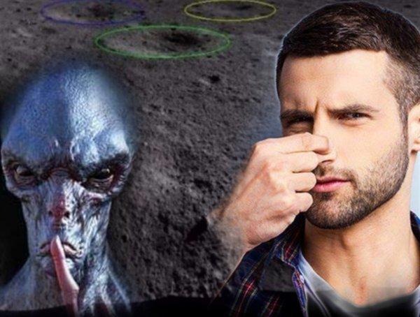 Пот пришельцев: «Блестящий гель» доказал наличие «чужих» на Луне