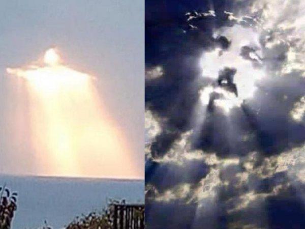 Бал Сатаны 14 сентября: Иисус в небе над Москвой предупредил о конце света