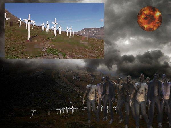 Нибиру поднимает мертвецов! Норвежские зомби идут на Россию