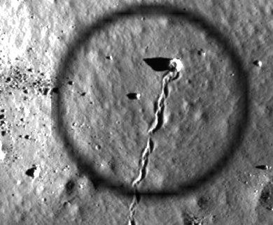 Раскрыта тайна Луны! На поверхности земного спутника найден вход в святилище рептилоидов