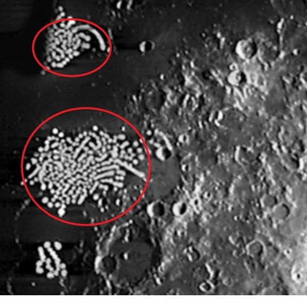 Пришельцы ходят на руках? Уфолог заметил гигантские отпечатки пальцев на Луне