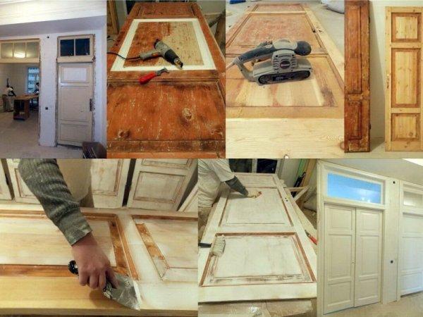 Как восстановить деревянную дверь, советуют профессионалы