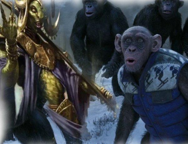 Мы – последние! Нибиру проводит в Китае эксперименты по превращению людей в обезьян