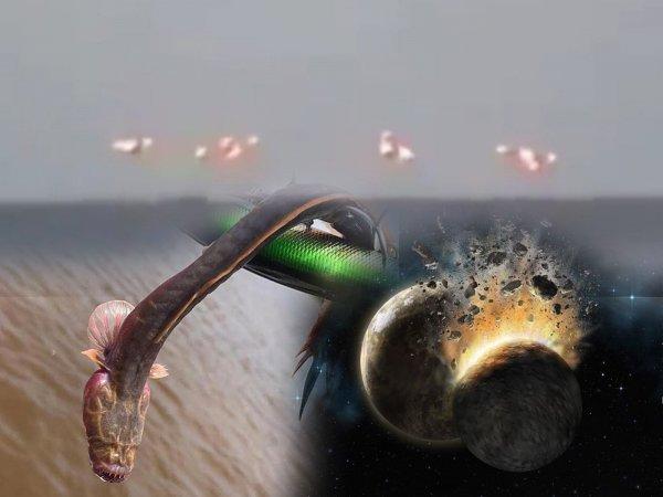 Саблезубые змеерыбы: Пришельцы с Юпитера сбросили в Баренцево море страшных тварей