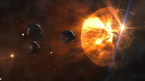 Большой ба-бах! Неизвестная межзвёздная комета летит к Солнцу и может взорвать его