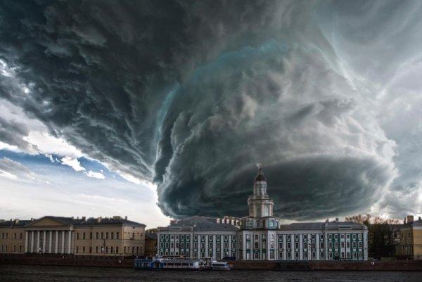 «Мортимер отдыхает!» Новый суперураган уничтожит Петербург