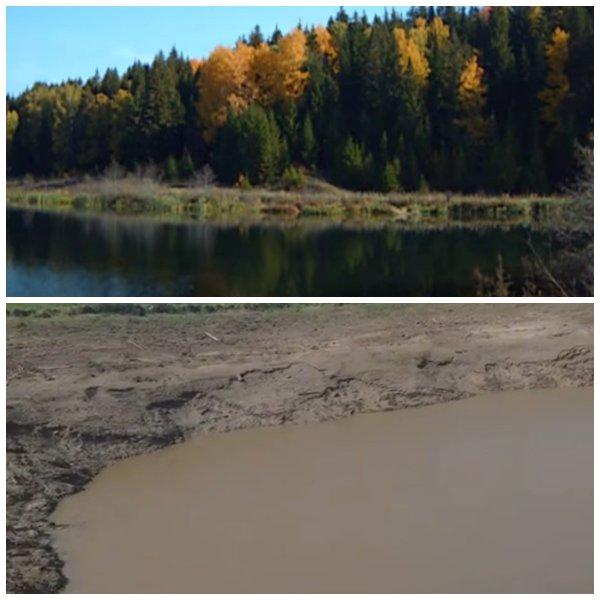 Пришельцы украли озеро в Перми – Жители Сатурна используют воду России для топлива