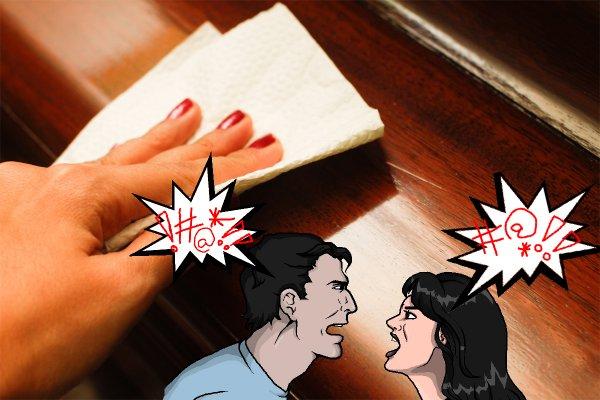 Бумагой стол трёшь – ссору в дом зовёшь: Как не стать козлом отпущения из-за лени