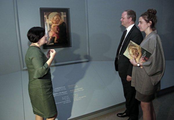 «Мадонна делла Лоджиа» вызвала ажиотаж во Владивостоке