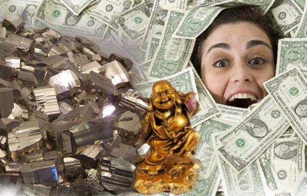 Будет камень – будут деньги: минерал пирит способствует богатству