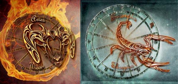 Огонь и Вода не сойдутся никогда: Возможен ли успешный союз между Овнами и Скорпионами – специалист