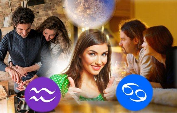 Воскресный отдых: Домашний уют и спокойствие укрепят союз Раков и Водолеев