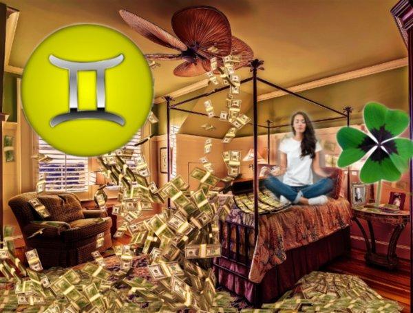 Деньги с потолка: Клевер обогатит Близнецов в марте