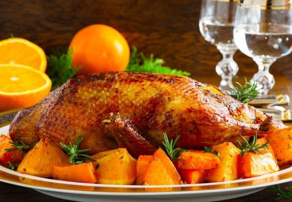 Королева стола. Рождественская утка с апельсинами и яблоками от хозяйки