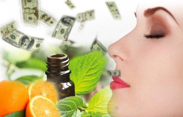Запахи и ароматы для привлечения денег