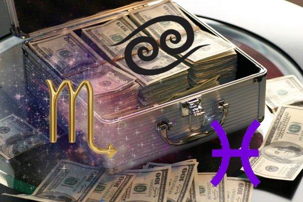 Скорпион держи миллион: Когда знакам Воды суждено купаться в деньгах