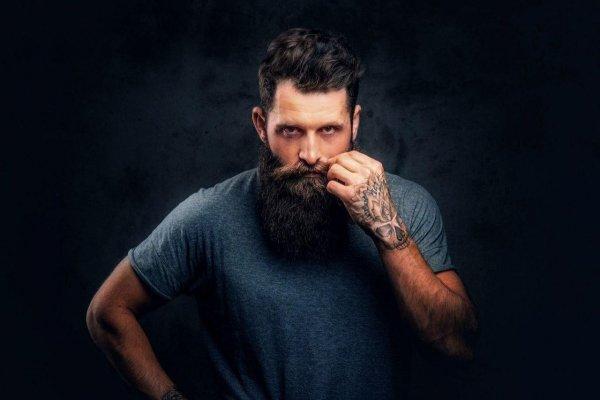 Борода способна защитить мужчин от серьезных травм во время драк