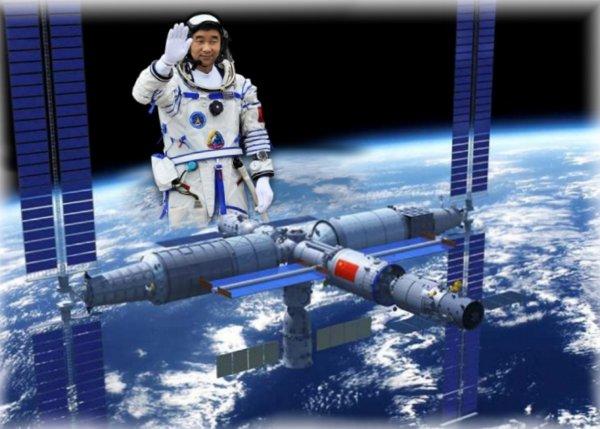 Китай построит собственную МКС через два года