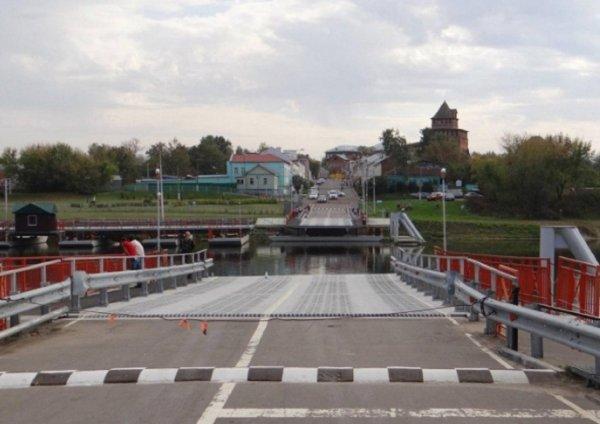 В Коломне закрыли Бобреневский мост из-за паводка