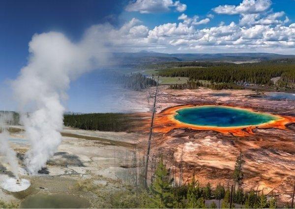 Суперизвержение Йеллоустонского вулкана может произойти через 900 тысяч лет