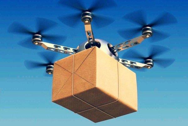 Дроны-доставщики смогут подзаряжаться на крышах автобусов
