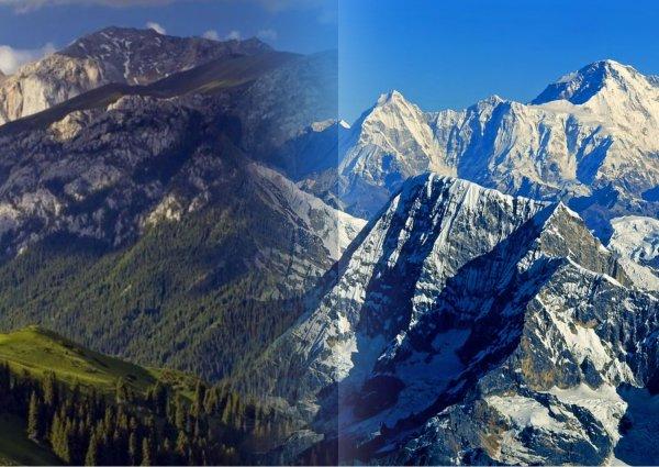 Учёные объяснили разную высоту гор тектоническими усилиями