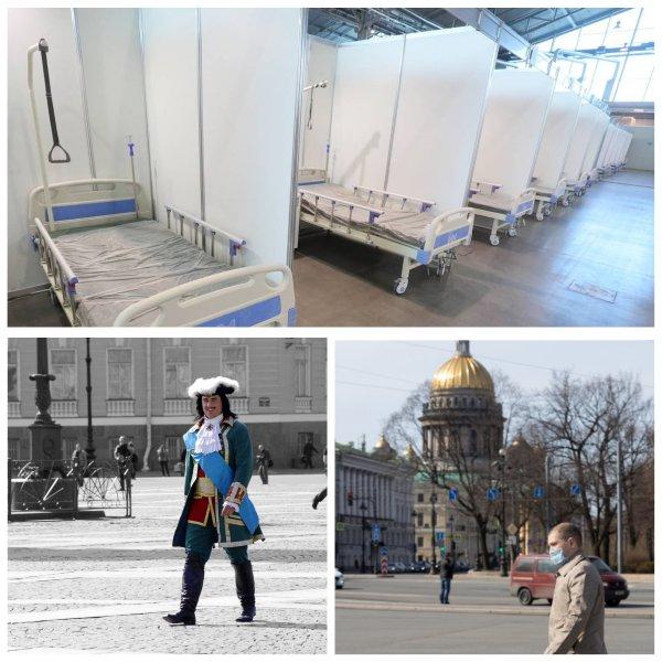 Губернатор заявил, что в Петербурге нет больниц для перепрофилирования под COVID-19
