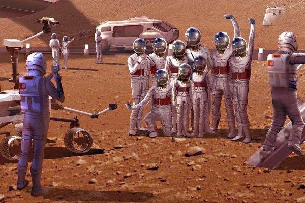 Ученый определил, что для колонизации Марса достаточно 110 человек